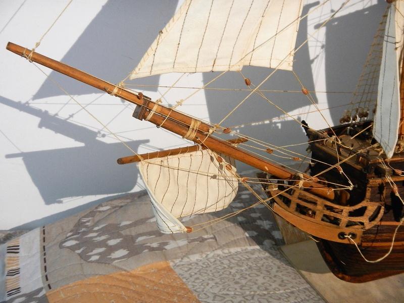 Maquette Voilier du XVIIIème siècle à réparer ! par Glénans Dscn5785