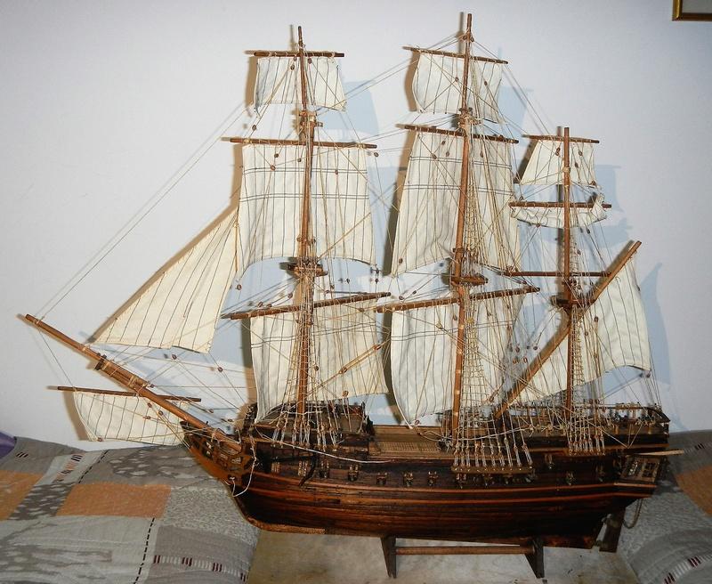 Maquette Voilier du XVIIIème siècle à réparer ! par Glénans Dscn5788