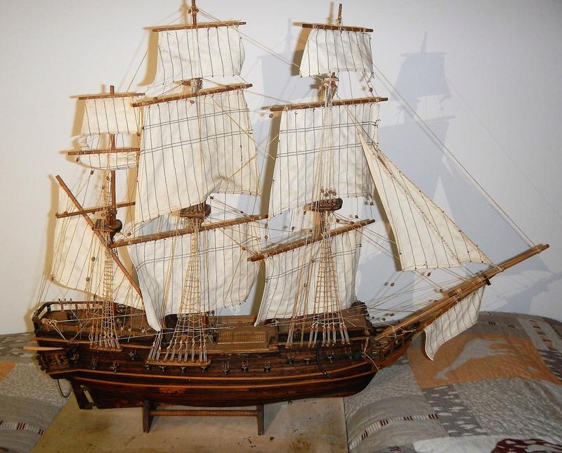 Maquette Voilier du XVIIIème siècle à réparer ! par Glénans Dscn5789