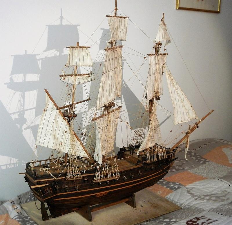 Maquette Voilier du XVIIIème siècle à réparer ! par Glénans Dscn5790