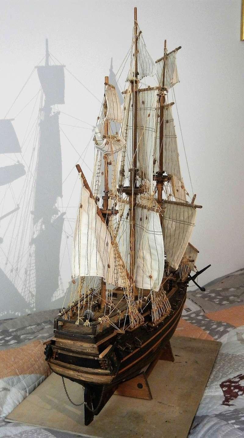 Maquette Voilier du XVIIIème siècle à réparer ! par Glénans Dscn5791