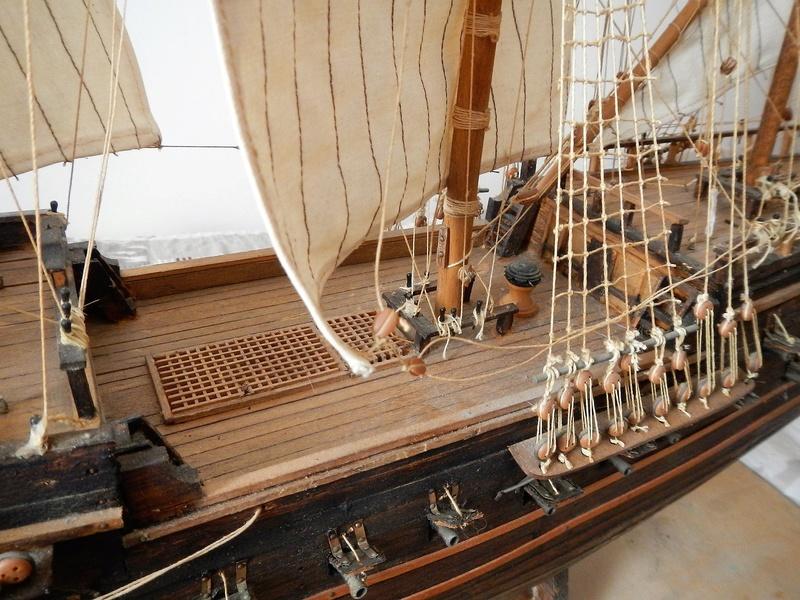 Maquette Voilier du XVIIIème siècle à réparer ! par Glénans Dscn5792