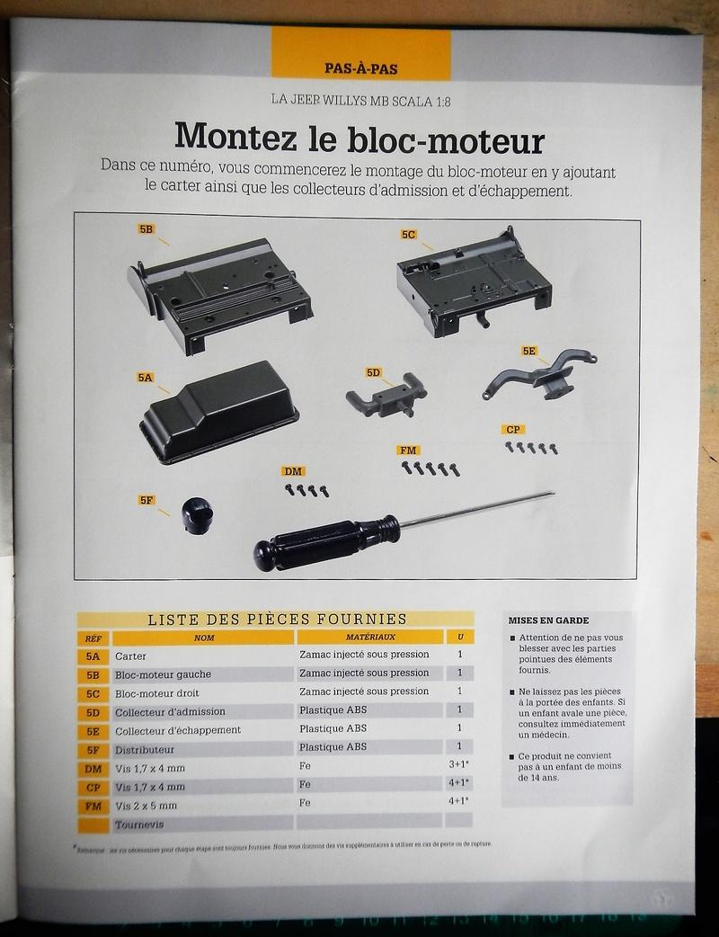 Jeep Willys - 1/8ème - Ed. Hachette - Construction par Glénans (Partie 1) - Page 2 Dscn6016