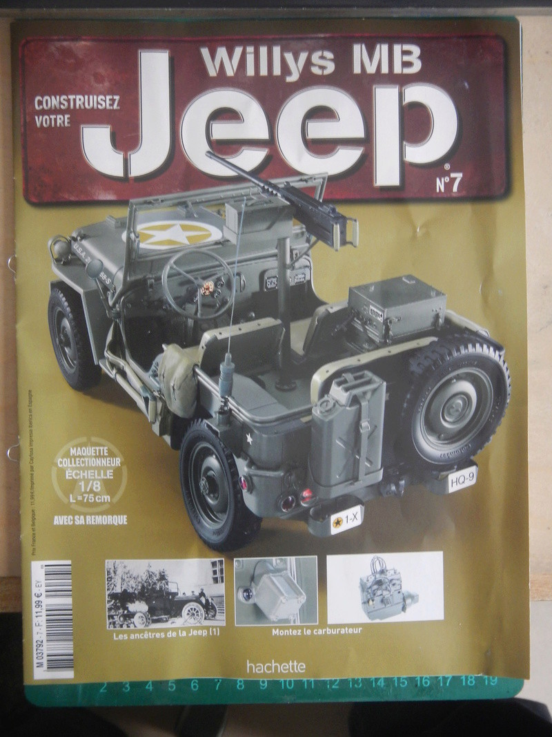 Jeep Willys - 1/8ème - Ed. Hachette - Construction par Glénans (Partie 1) - Page 2 Dscn6021