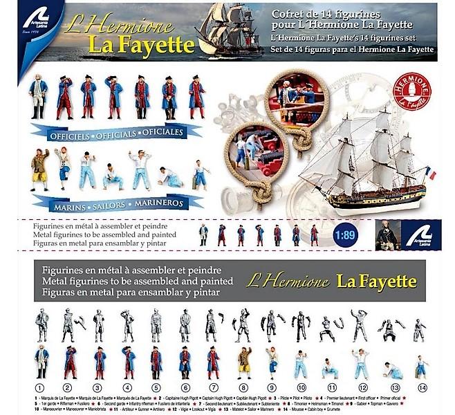 L'Ambitieux  un des navires de Tourville par michaud - Page 32 Figuri10
