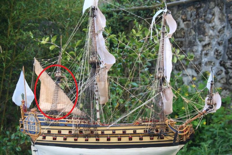 L'Ambitieux  un des navires de Tourville par michaud - Page 33 Img_0610