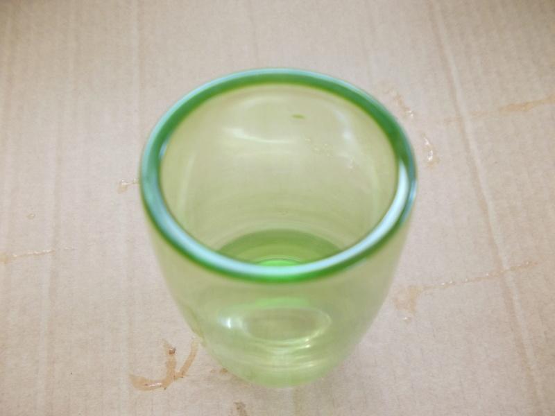 Oval greenvase heavy base Dscn0120