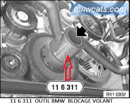 [ BMW E46 320d M47 an 1998 ] Poulie Damper bruyante (Résolu) 11_m4710