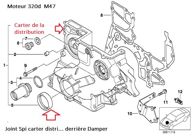 [ BMW E46 320d M47 an 1998 ] Poulie Damper bruyante (Résolu) 11_m4711
