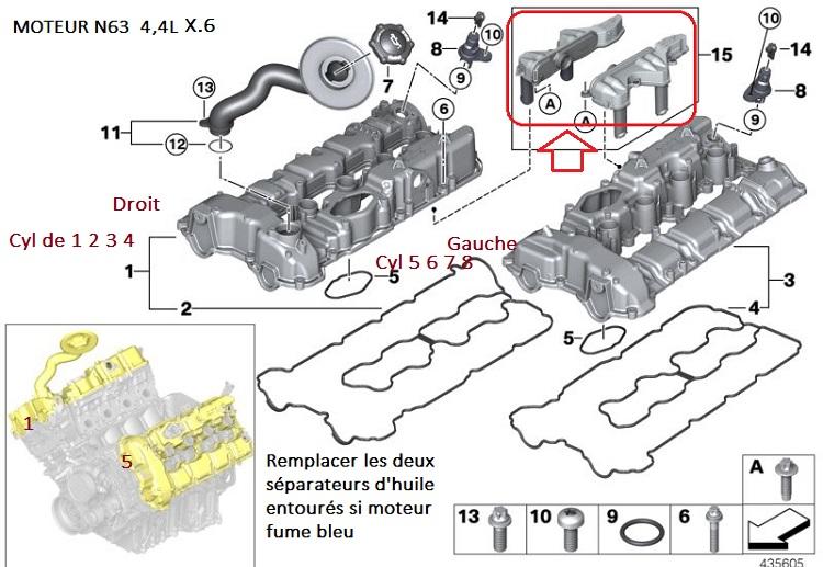 [ BMW E71 X6 4.4i an 2008 ] Moteur fume 11_mot13