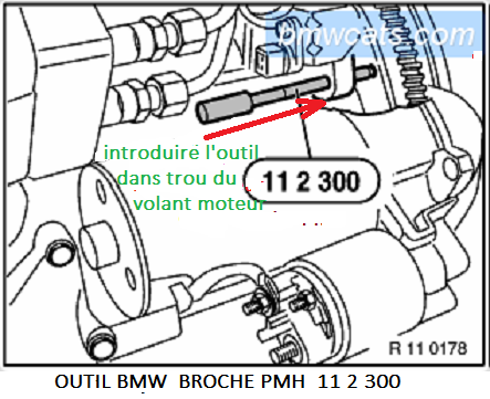 [ BMW E46 320d M47 an 1998 ] Poulie Damper bruyante (Résolu) 11_mot13