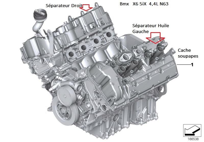 [ BMW E71 X6 4.4i an 2008 ] Moteur fume 11_mot14