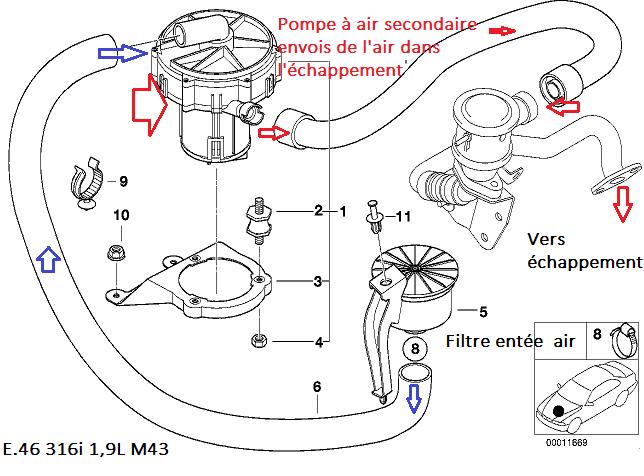 [ Bmw e46 316i m43 an 2001 ] Vidéo identifier bruit moteur 11_pom10