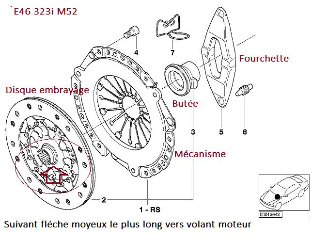 [ BMW E46 323i M52 an 1998 ] Pédale embrayage dure (Résolu) 21_emb11