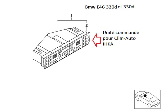 [ BMW E46 320d an 1998 ] problème de clim auto 64_e4611