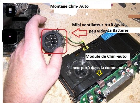 [ BMW E46 330D M57 an 2003 ] Air chaud aux pieds et sur le pare-brise avec la climatisation 64_mod10