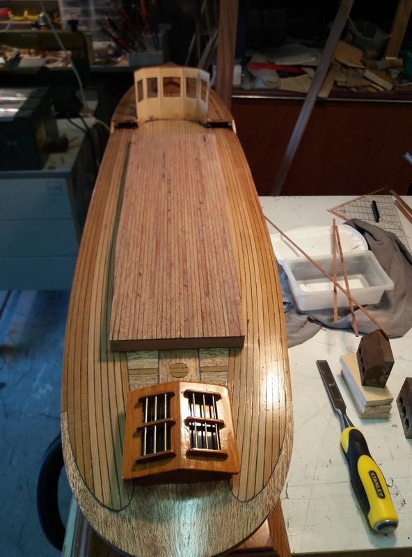 Yacht  classique à moteur 1920 / 1930 NEMESIS - Page 4 Rotati11