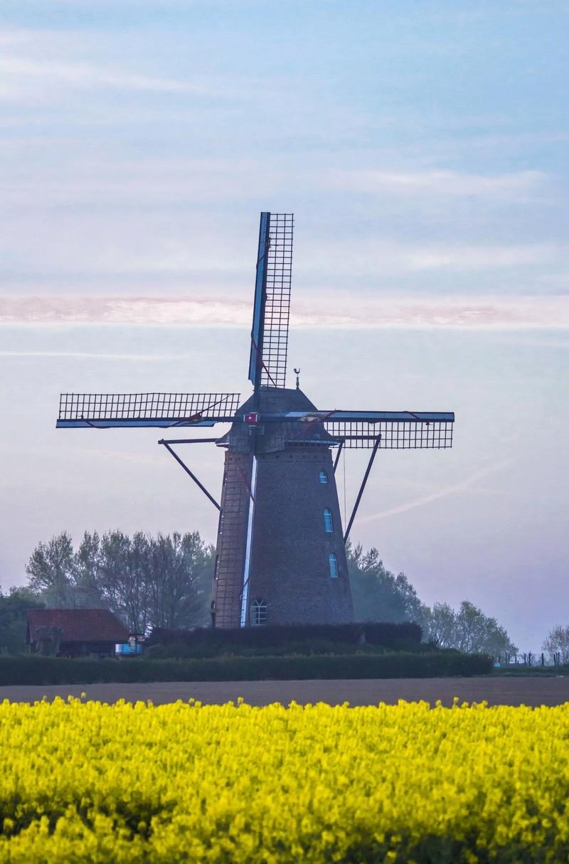 levée de soleil sur moulin N2 Moulin18