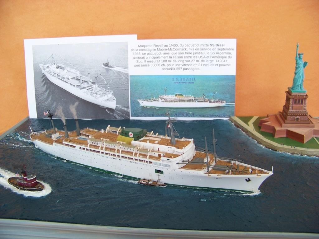 Dio : Arrivée à NYK du SS Brasil & remorqueur (Revell 1/400°) par PLEF 100_9422