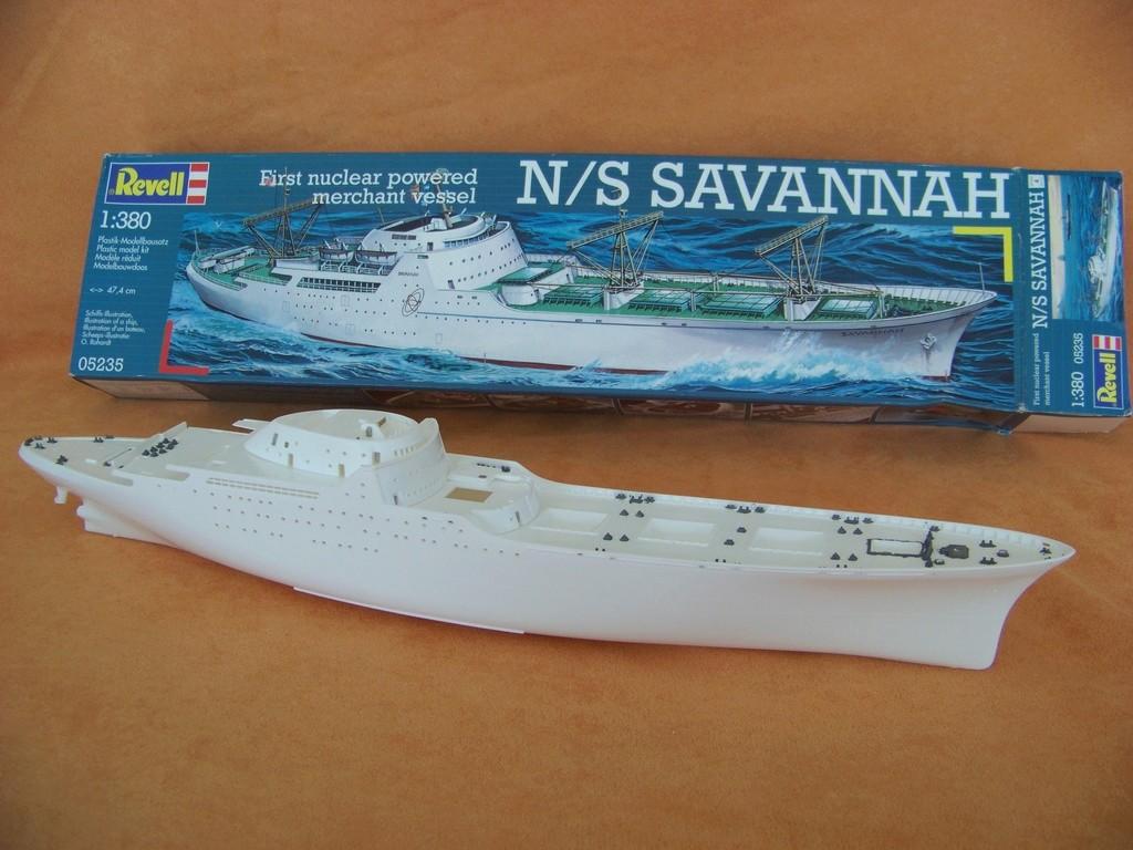 Cargo mixte nucléaire NS Savannah, cargo Hawaiian Pilot 100_9430