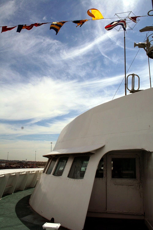 Cargo mixte nucléaire NS Savannah, cargo Hawaiian Pilot Img_0410