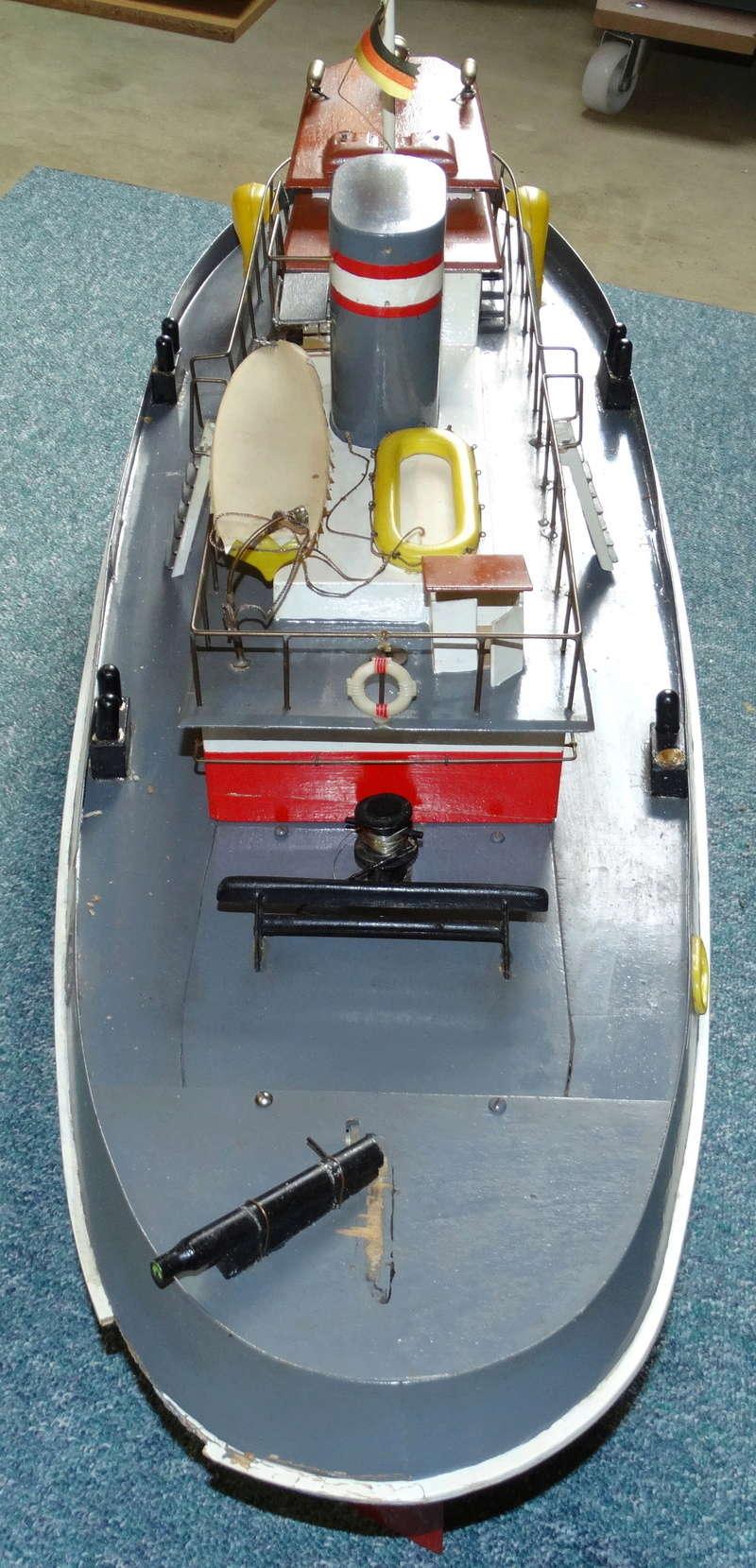 """Hafenschlepper """"Hamburg II"""" - Totalrenovierung/Umbau eines robbe-Veteranen Dsc01611"""