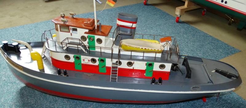 """Hafenschlepper """"Hamburg II"""" - Totalrenovierung/Umbau eines robbe-Veteranen Dsc01612"""