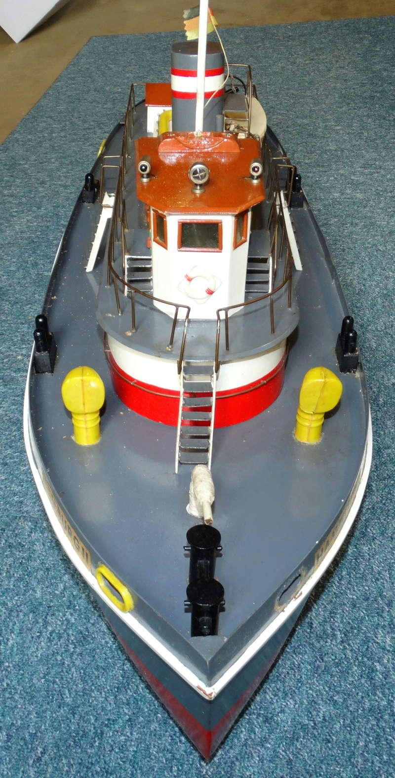 """Hafenschlepper """"Hamburg II"""" - Totalrenovierung/Umbau eines robbe-Veteranen Dsc01614"""