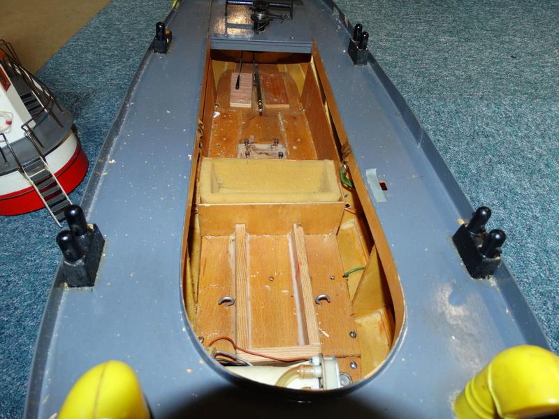 """Hafenschlepper """"Hamburg II"""" - Totalrenovierung/Umbau eines robbe-Veteranen Dsc01619"""