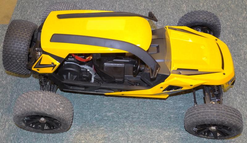 AMEWI Hammerhead V2 1:6 Brushless-Buggy 2WD mit AVC Dsc07615