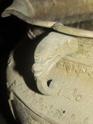Large copper Asian pot planter  02210