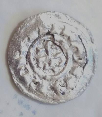 Denier Milanais d'Arduin d'Ivrée (1002-1015) ... Caro210