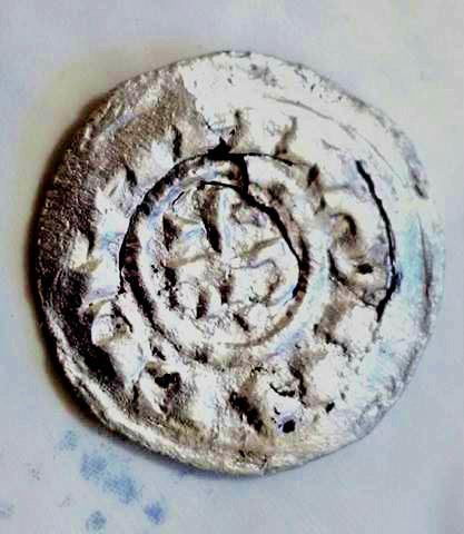 Denier Milanais d'Arduin d'Ivrée (1002-1015) ... Caro2r10