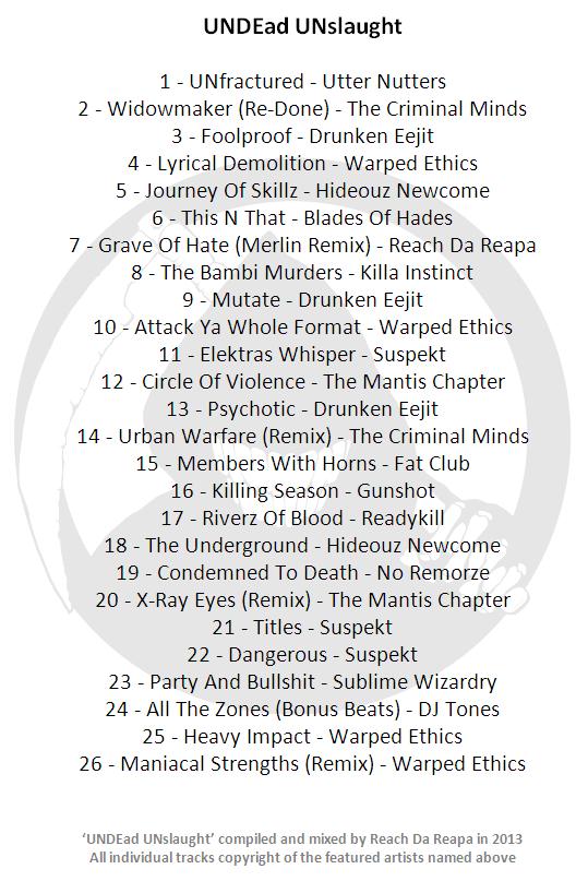 Reach Da Reapa UNDEad UNslaught britcore mix [download] Unslau10