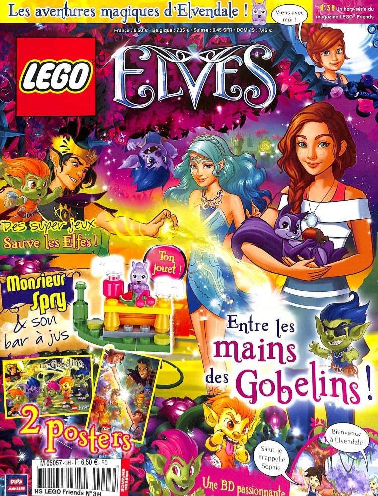 (Produit dorénavant indisponible) 2017 - LEGO® Poly Bag Magazine, Mr. Spry et son bar à jus M5057h10