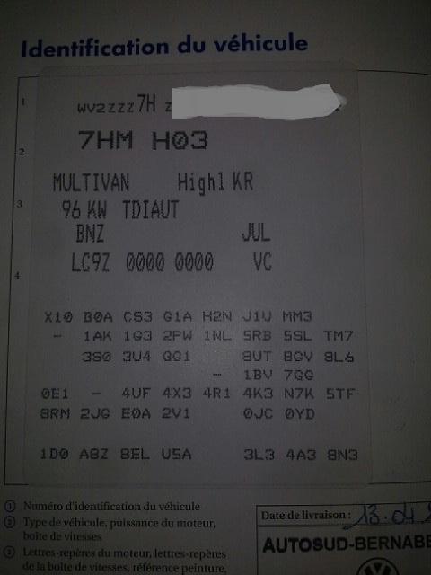 demande estimation 2.0 BITDI 180 FAP 4 Motion DSG7 confotline 2011 Code_o10