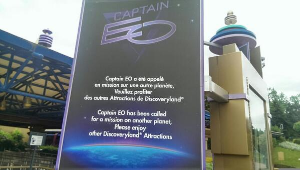 Réouverture de Captain Eo le 2 octobre 2014 - Page 5 Ce110