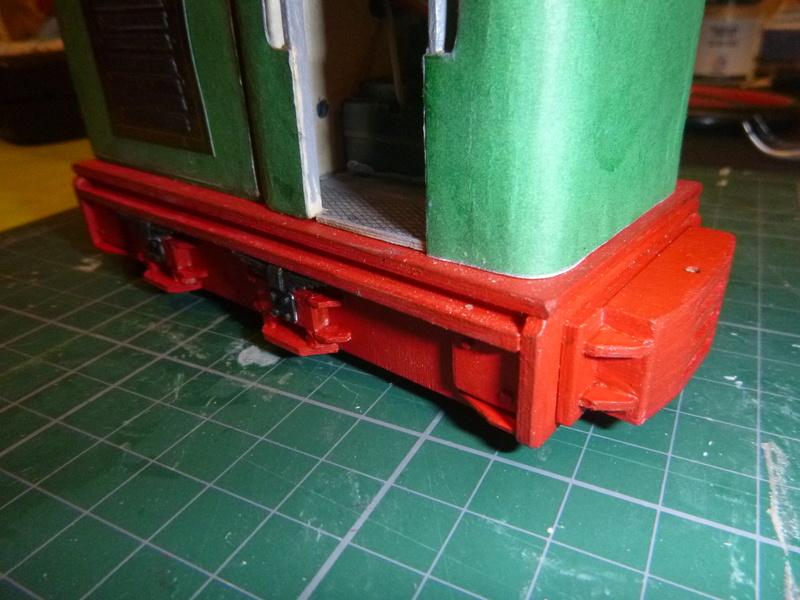 Feldbahnlok GLS 30 / Spurweite 32mm  P1050816
