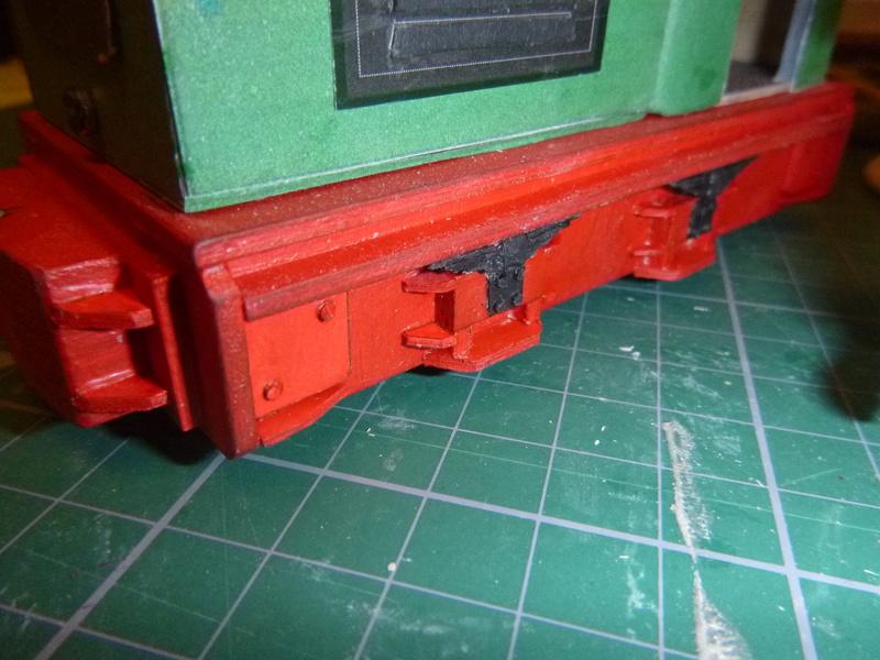 Feldbahnlok GLS 30 / Spurweite 32mm  P1050818