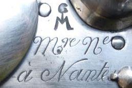 Encore une magnifique marque de bois poinçonnée la semaine dernière  Manufa12