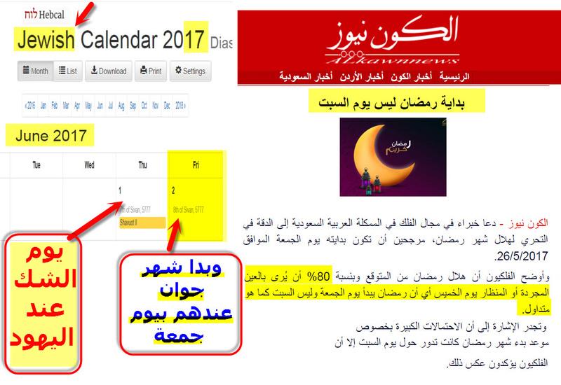 """فلكيون """" بداية رمضان هويوم الجمعة """" هل الصيحة يوم  الجمة 15 رمضان؟؟  05-06-10"""