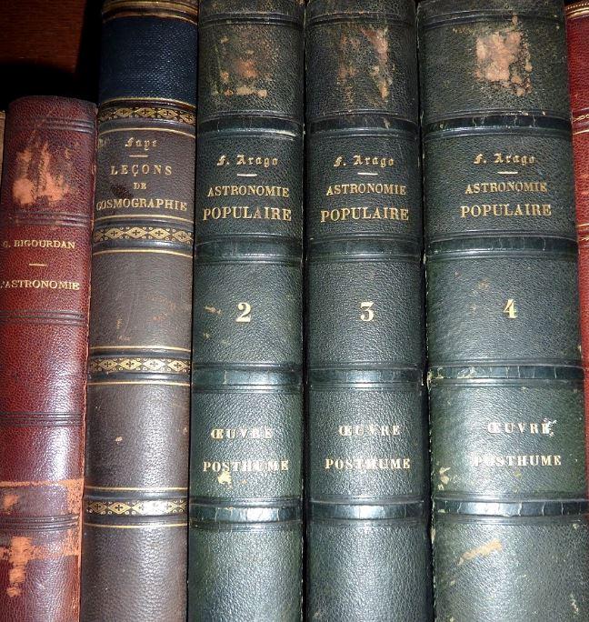 Carte du ciel et livre astronomique de 1880  3a10