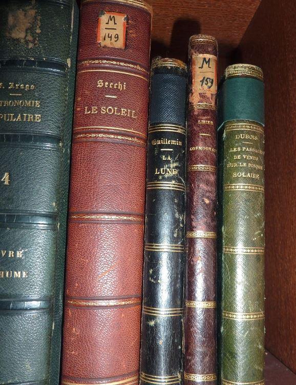 Carte du ciel et livre astronomique de 1880  4a10