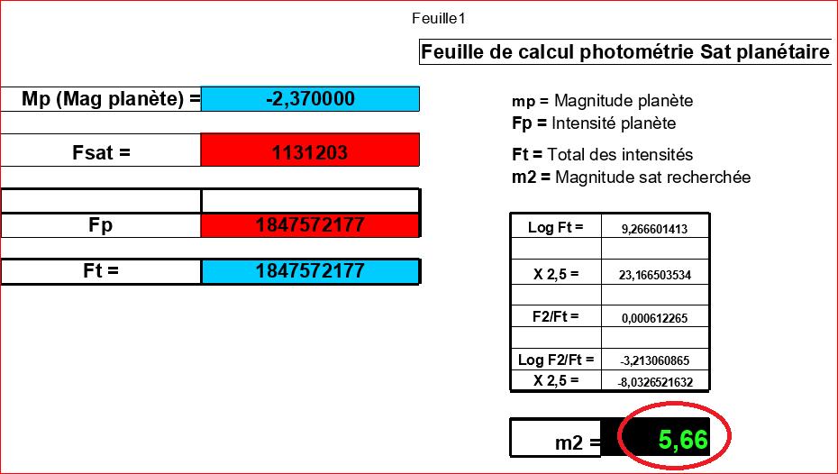 Photométrie - recherche mag Ganymède Calcul10