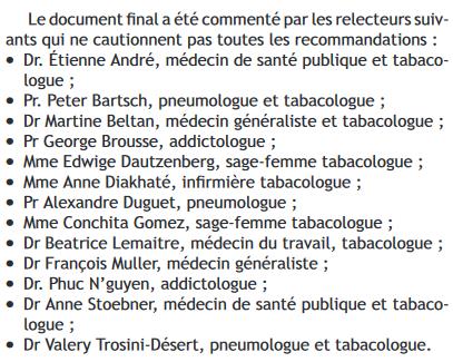 Vape : les recommandations de 11 experts français aux médecins. Practi10