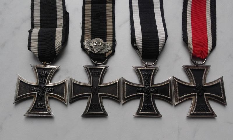 EK2 1813, 1870, 1914, 1939, 1957 20170315