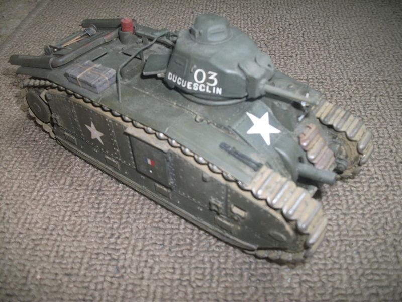 B1Bis [Tamiya 1/35] + US infantry [Dragon 1/35] 007_op10