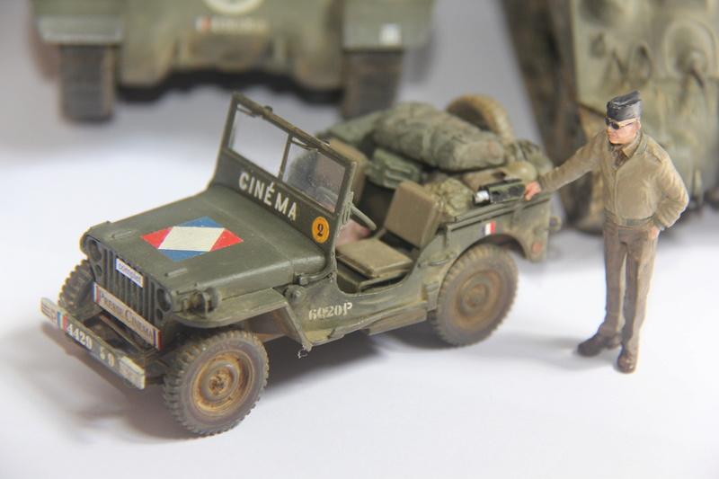 jeep indochine - jeep Tamiya 1:35 ou reportage a la 1ere DB 10410