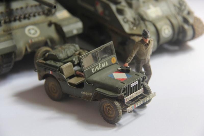 jeep indochine - jeep Tamiya 1:35 ou reportage a la 1ere DB 10610