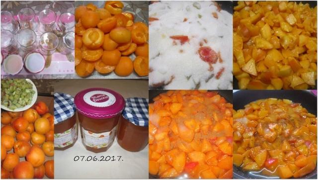 Confiture d'abricots et cannelle. Confit14